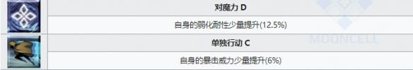 《FGO》织田信胜技能介绍