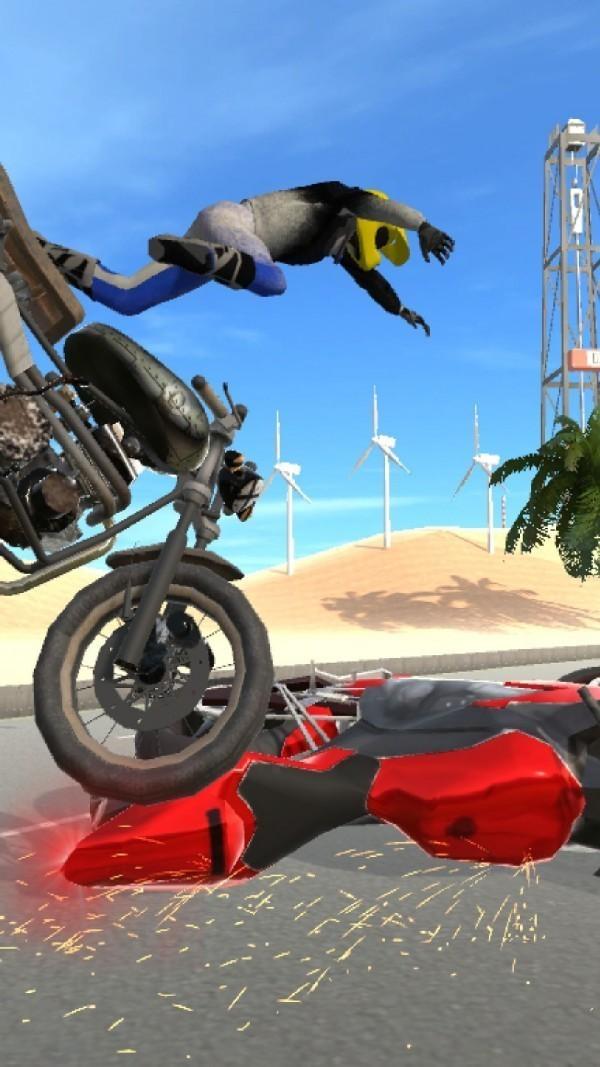 疯狂摩托城3D官方下载