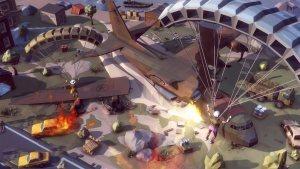 吃鸡战场卡通和平精英游戏