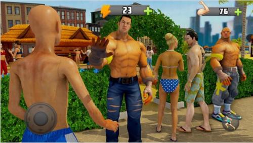 是男人就炼成吨肌肉游戏