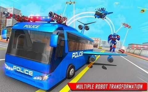 变形警车机器人游戏安卓版