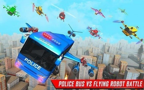 变形警车机器人游戏最新版