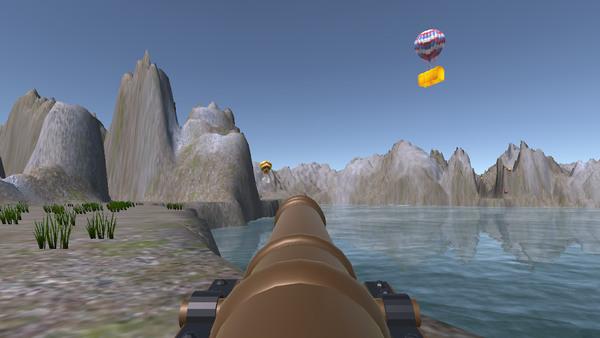 大炮的领土游戏