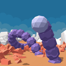 岩石巨蟒手游