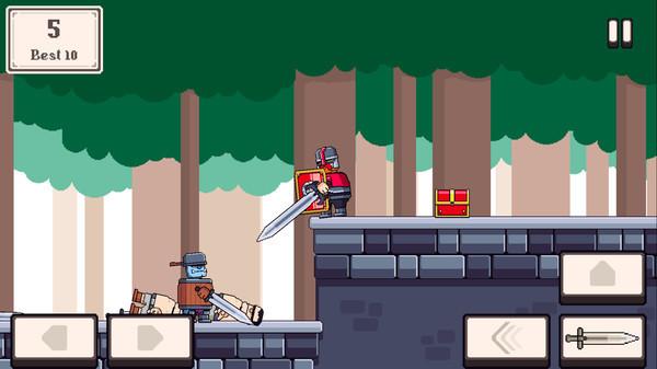 骑士大乱斗游戏