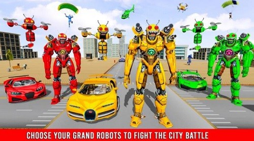 大黄蜂变形机器人汽车汉化版下载