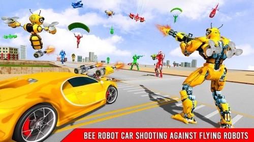 大黄蜂变形机器人汽车游戏破解版