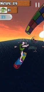 跑步者风筝冲浪游戏